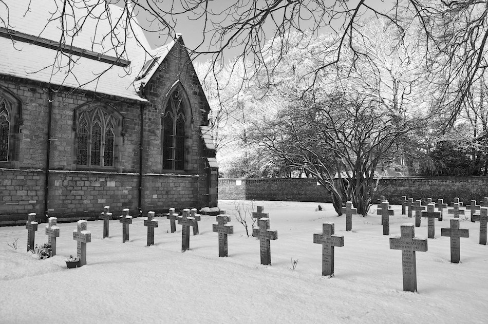 Crosses in the churchyard of Bishop Eton Church, Childwall