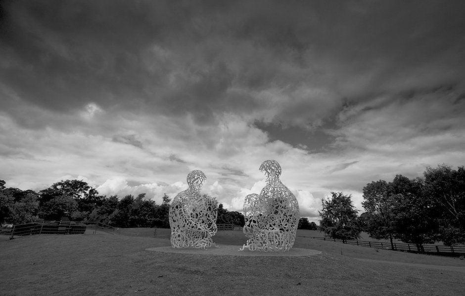 Jaume Plensa Exhibition, Yorkshire Sculpture Park