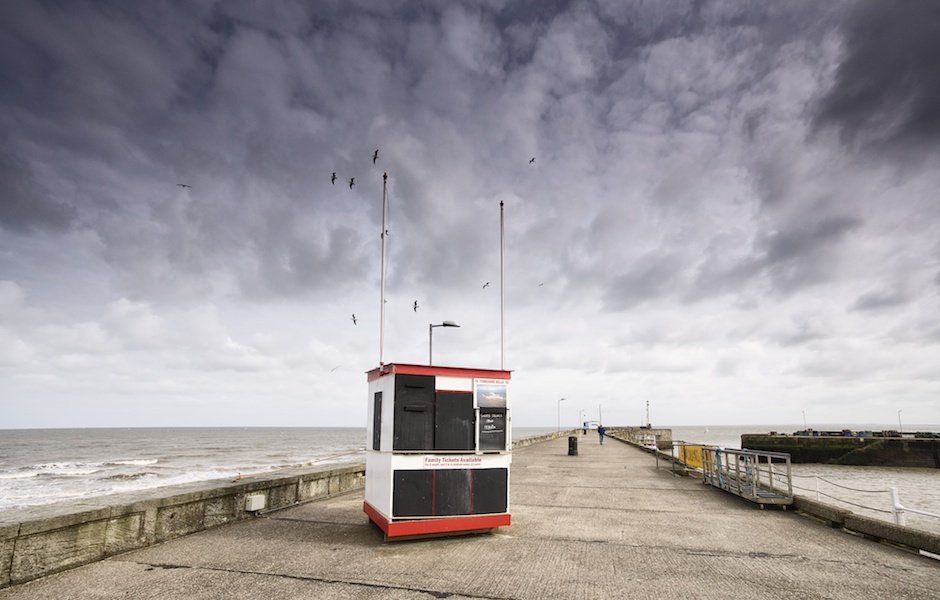 Yorkshire Belle ticket hut, Bridlington