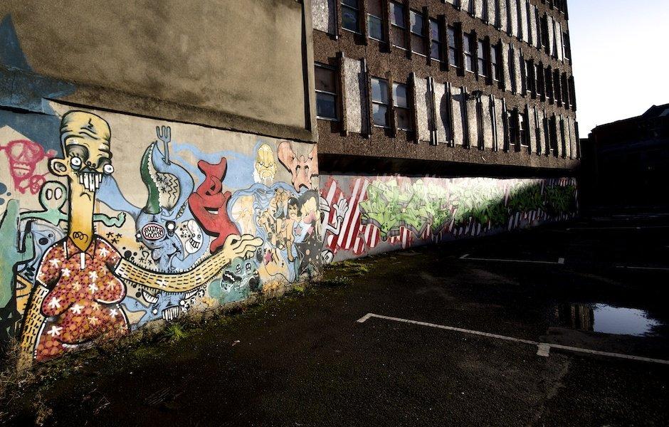 Cathedral Quarter Graffiti