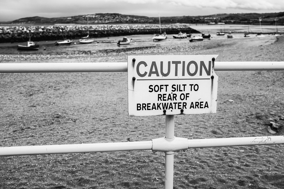 Caution - Soft Silt To Rear of Breakwater Area