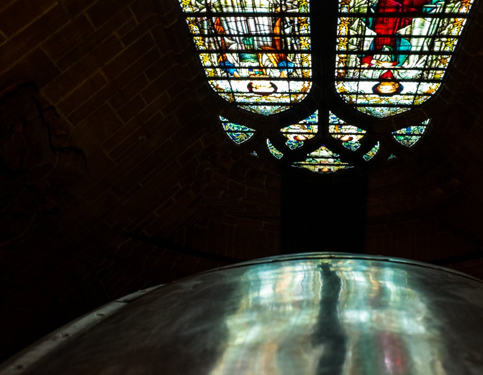 Band of Life - Hillsborough disaster memorial, Anglican Cathedral, Liverpool