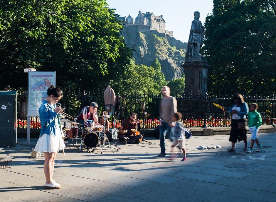 Edinburgh - Light & Shadow - Formidable Photography
