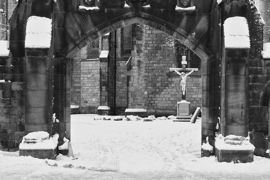 Archway of Bishop Eton Church, Childwall