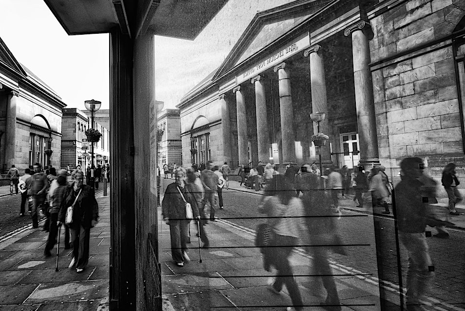 Reflection of Lyceum Building, Bold Street, Liverpool