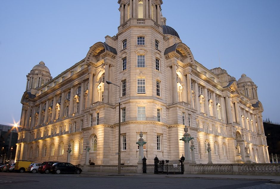 The Port of Liverpool, one of Liverpool's Three Graces.