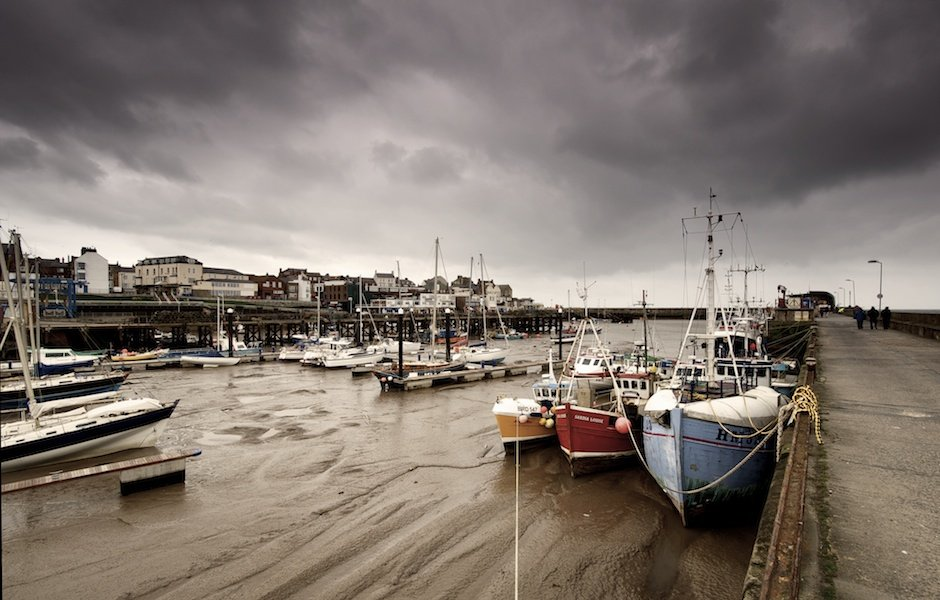 Bridlington Docks - Fishing Boats