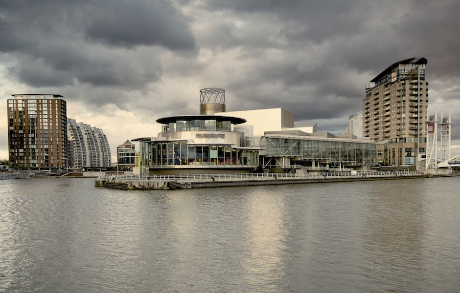 Lowry Theatre, Salford Quays, Manchester