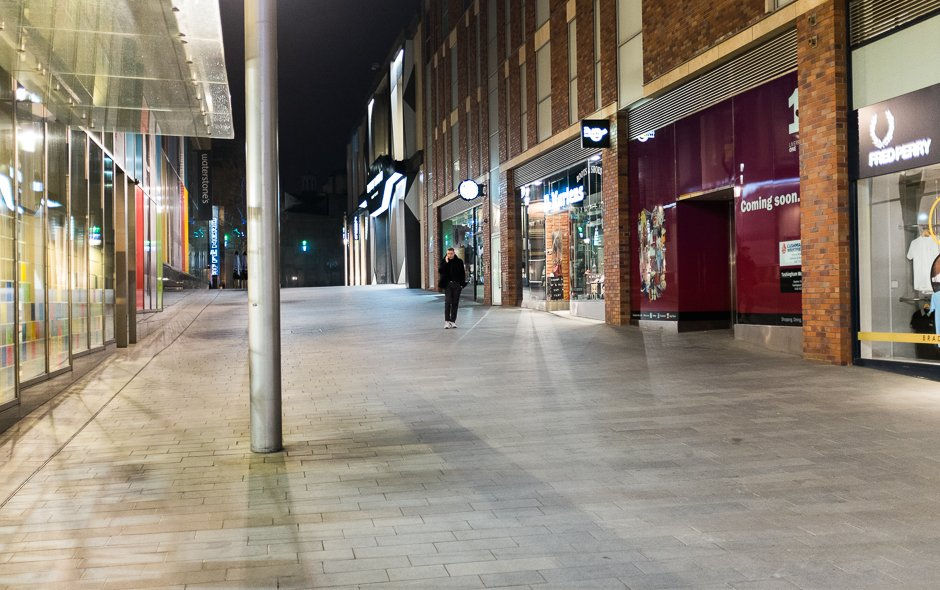 Liverpool One at Night
