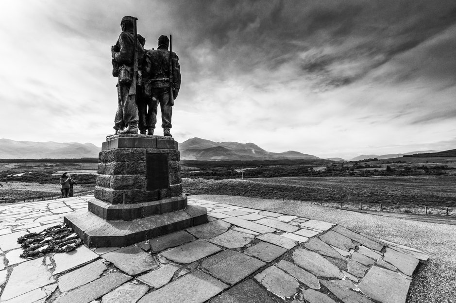 Commando Memorial - Lochaber, Scottish Highlands