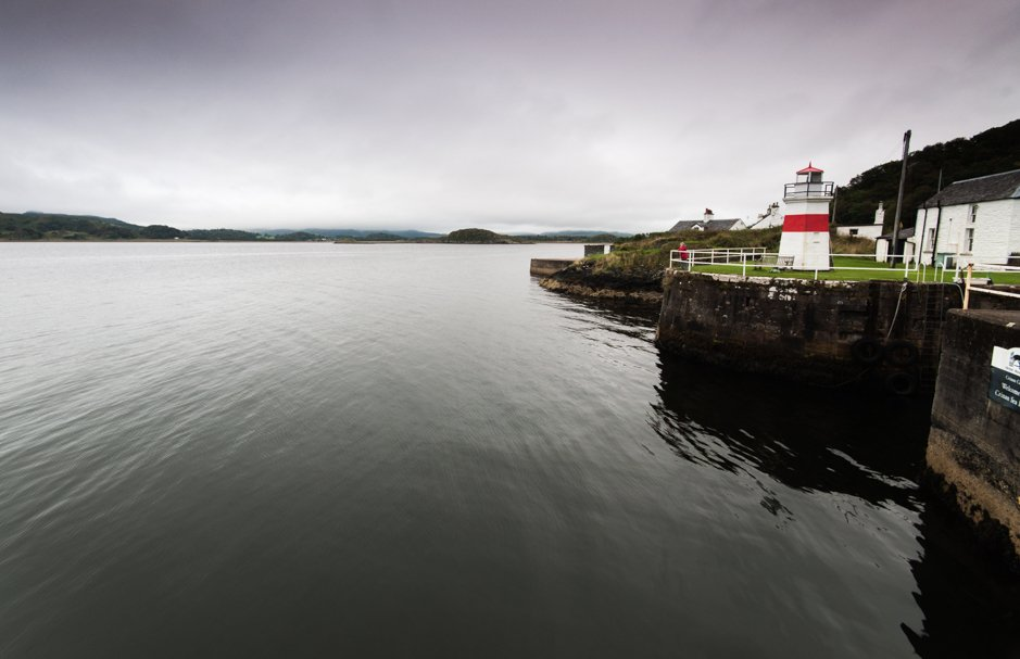 Harbour lighthouse - Crinan, Scotland