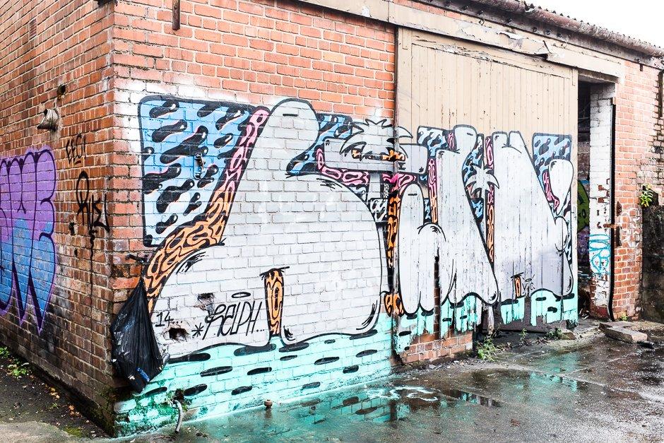 Graffiti, Mark It Festival, Liverpool