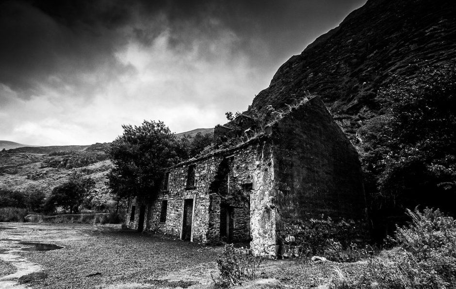 Abandoned cottage, Gap of Dunloe, Kerry