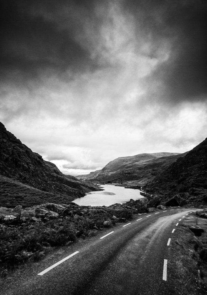 View back towards the lake, Gap of Dunloe, Kerry