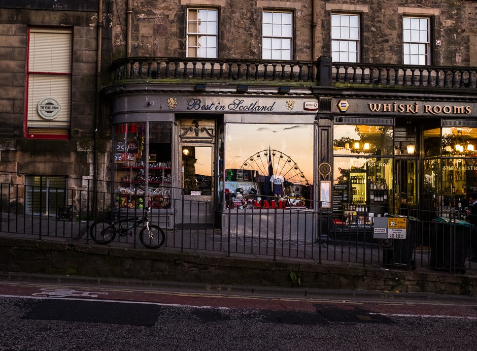 Best In Scotland shop, Edinburgh